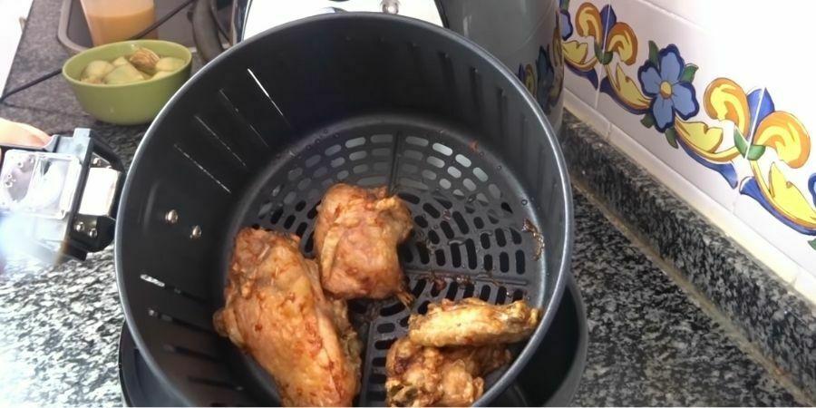 pollo-frito-freidora-sin-aceite-aire-caliente